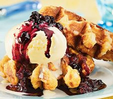 Blueberry and Maple Sauce