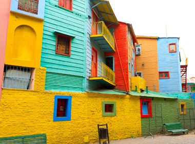 Caminito Street Museum - Buenos Aires, Argentina