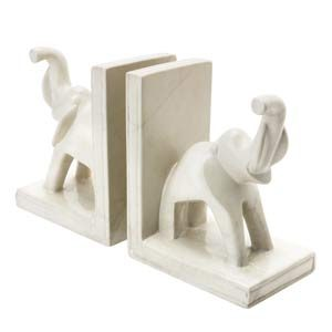 14. Kenyan Elephant Bookends