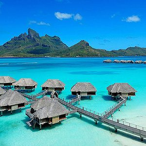 1. Four Seasons Resort - Bora Bora, French Polynesia