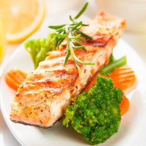 19. Here's what I like you to eat: omega-3s, vitamin B, complex carbs, antioxidants.