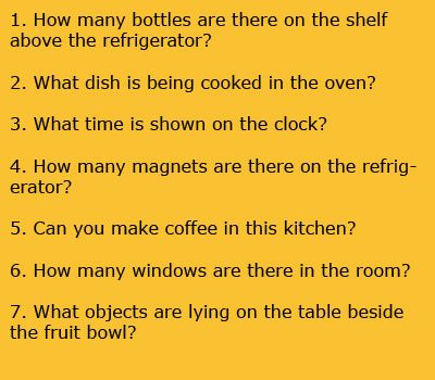 Now try to answer these questions: