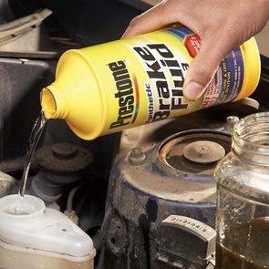 Can you change brake fluid yourself