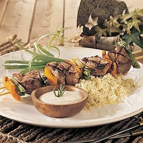 Lamb Brochettes with Aioli