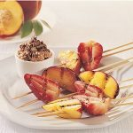 Fruit Kebabs With Ricotta