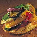 Grilled Vegetable Bruschetta