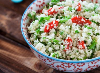 Bulgur with Spring Vegetables