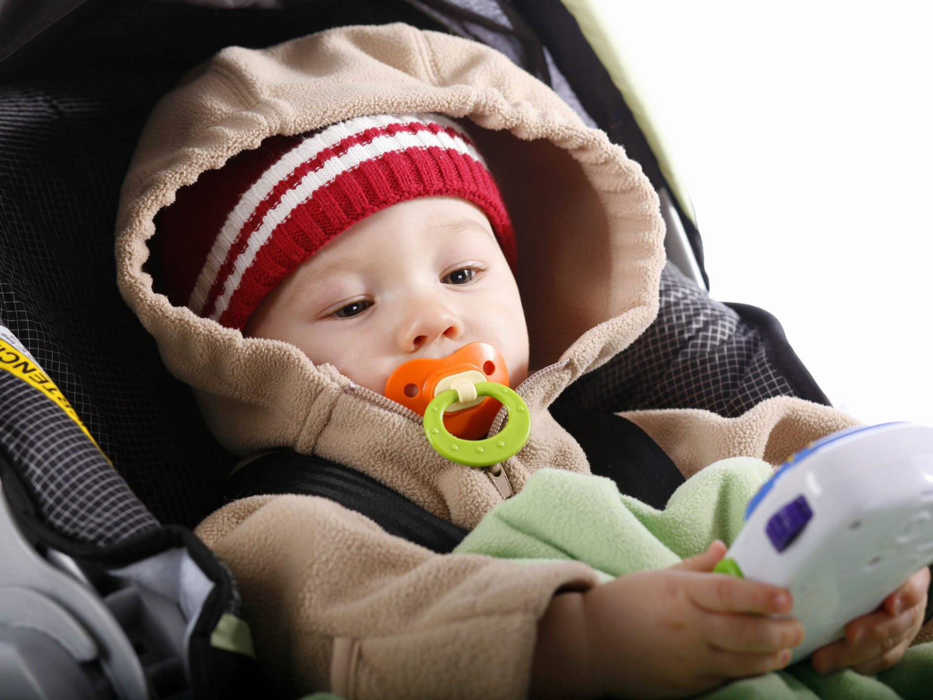 Avoid Bulky Clothing in Car Seats