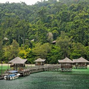 6. Bunga Raya Island Resort, Malaysia