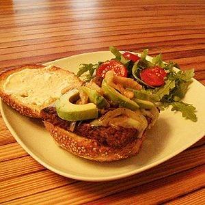 Joannie's Tempeh Burger