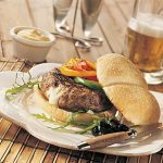 Veal Burgers with Cheese