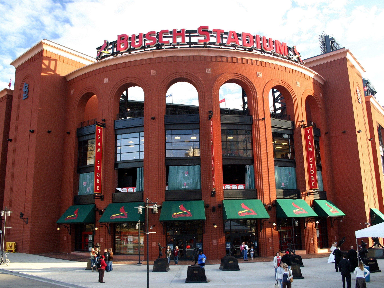 8. Busch Stadium - St. Louis, Missouri; home of the Cardinals.