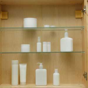 2. Your Bathroom Cabinet
