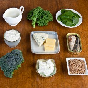 1. Dairy Products, Calcium, and Vitamin D