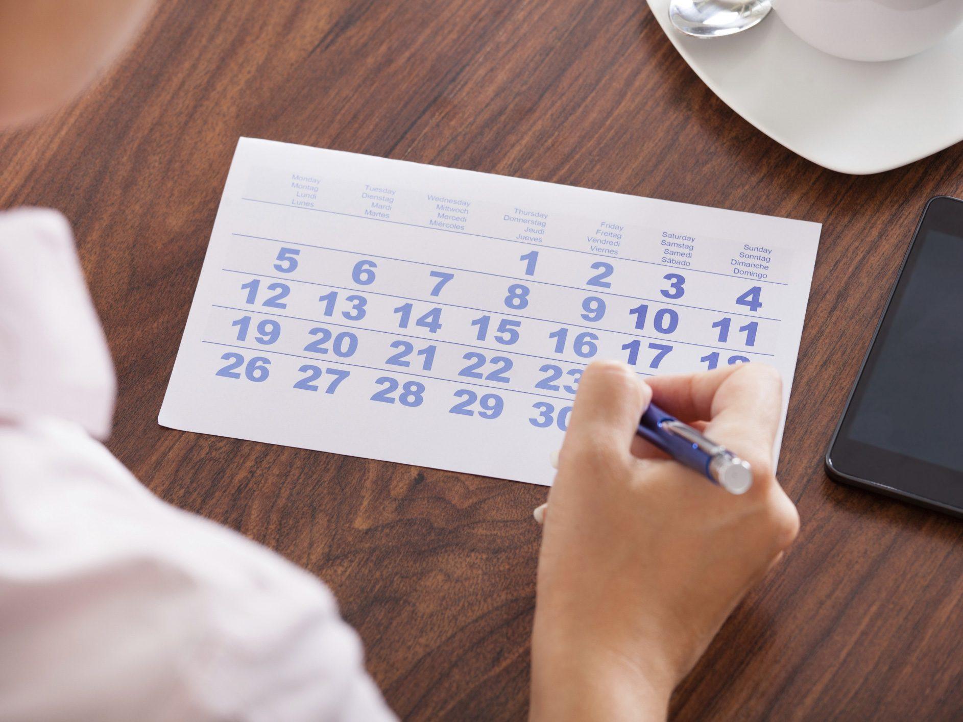 Put Everything on Your Calendar