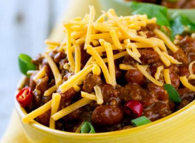 Canadian Maple Turkey Chili Recipe
