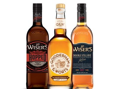 4. Canadian whisky is totally on-trend.