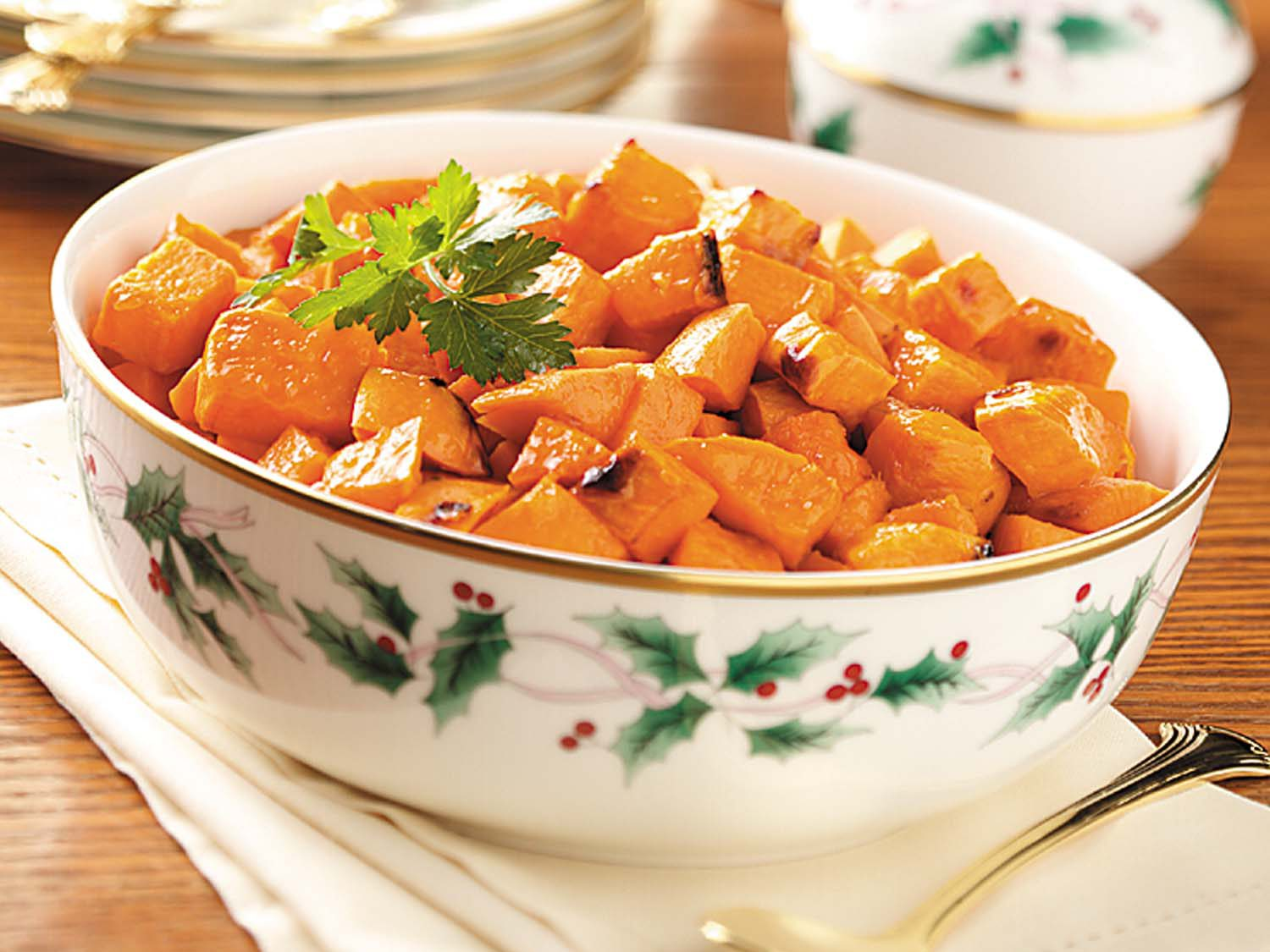 Recipe: Candied-Ginger Sweet Potatoes