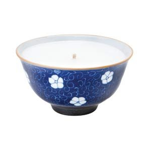 17. Blue Mai Rice Bowl Candles