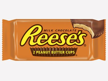 6. Reese's Peanut Butter Cups
