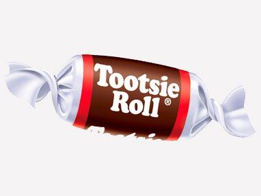10. Tootsie Rolls