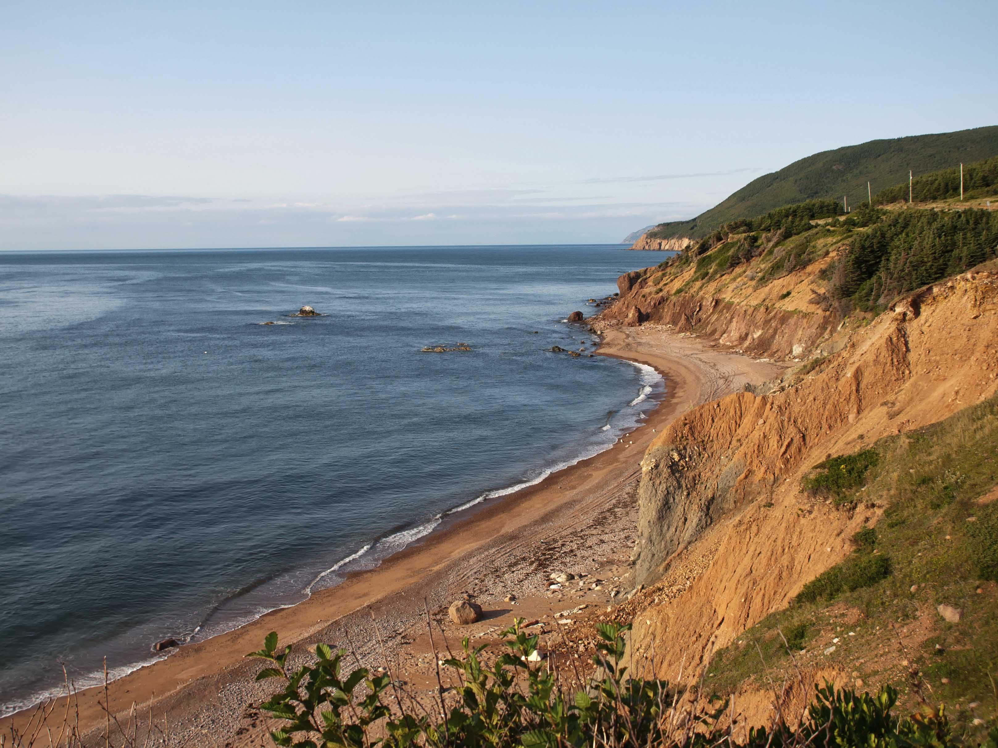 Fall camping destinations: Cape Breton Highlands National Park, Nova Scotia