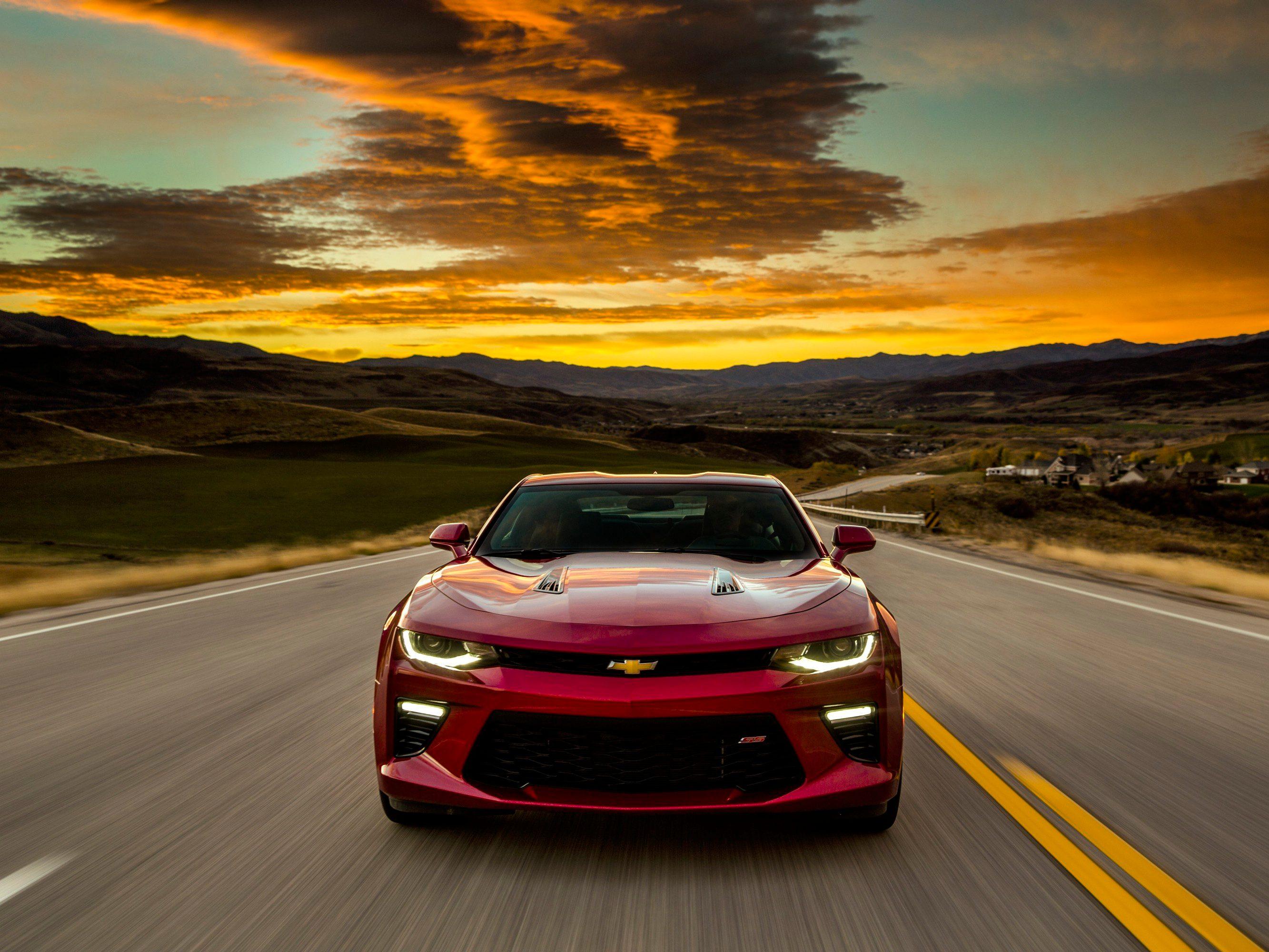 Introducing the 2016 Chevrolet Camaro