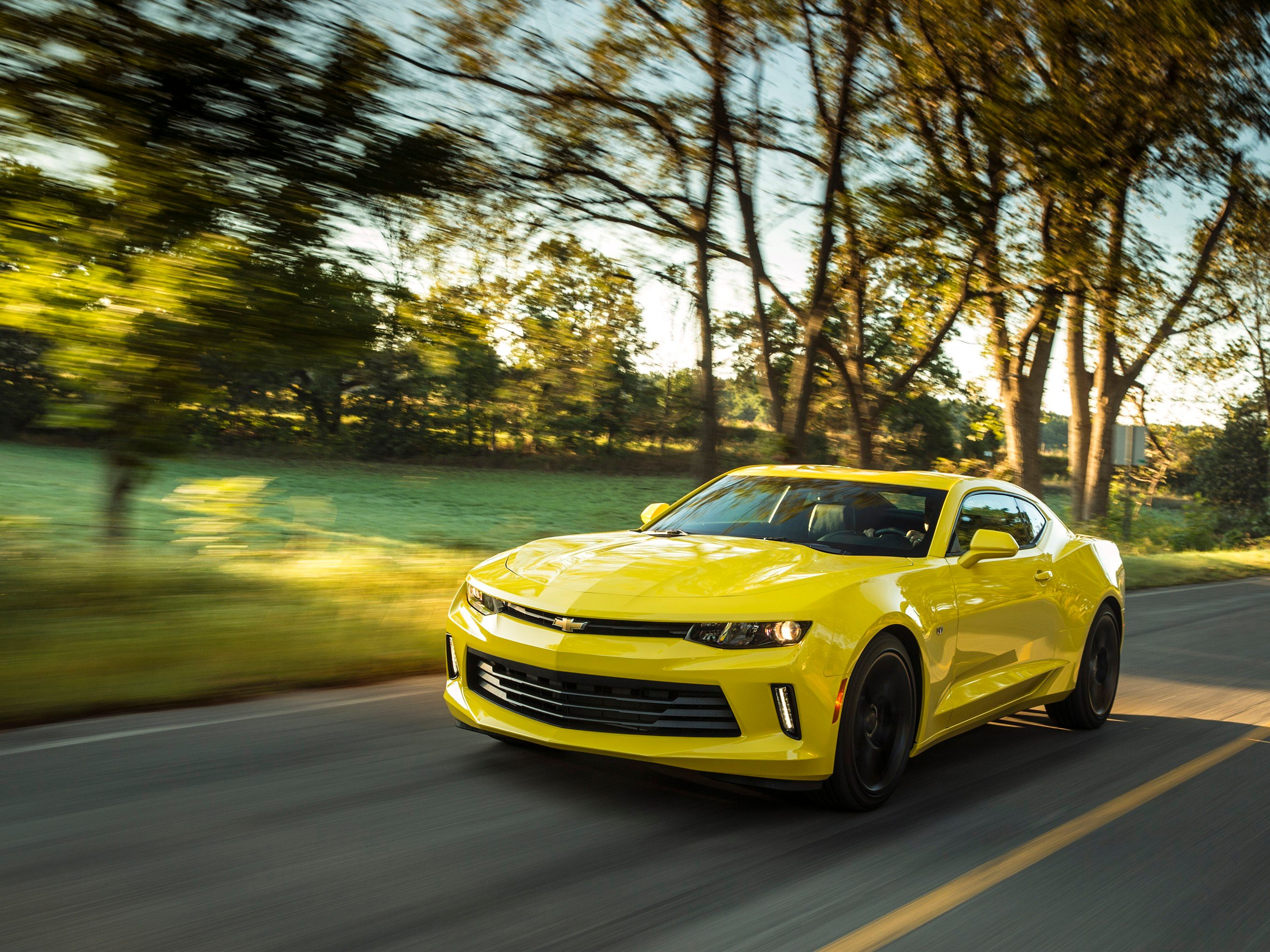 2. The 2016 Chevrolet Camaro has shed some weight.