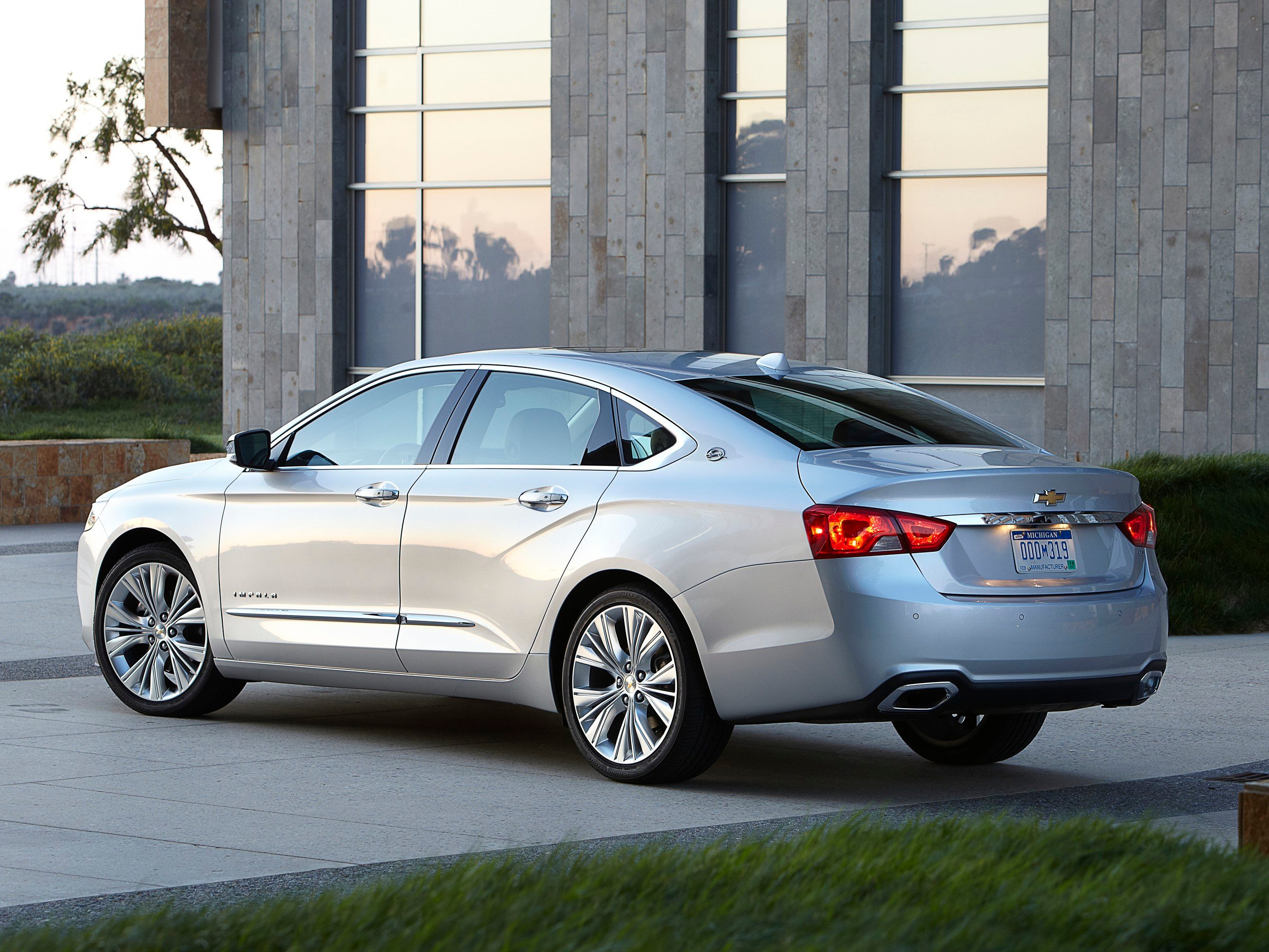 4. The new Chevrolet Impala combines power and fuel-efficiency.