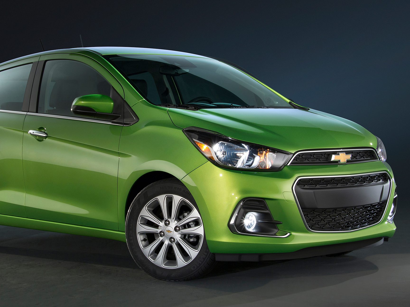 2. The 2016 Chevrolet Spark has a more powerful engine.
