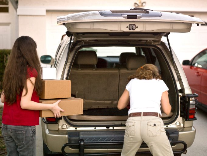 Anything That Needs to Go Somewhere Should Be in Your Car...