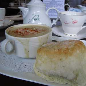 8. Stop for a Cuppa and Oatcakes at Rita MacNeil's Tearoom