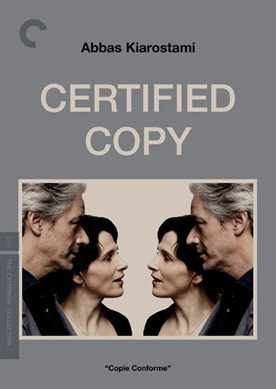 Certified Copy (DVD and Blu-Ray)