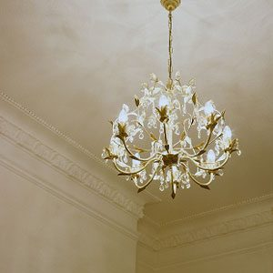 DIY Chandelier Cleaning
