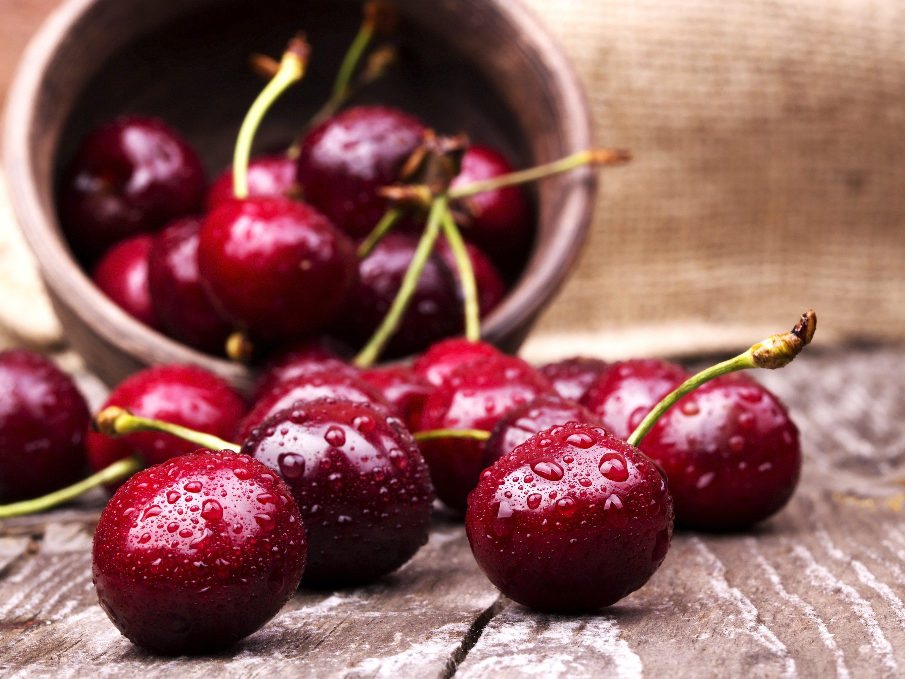 16. Eat 15 cherries a day.