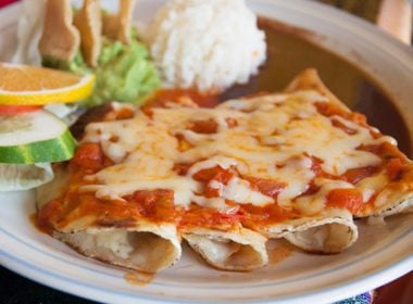 Belly-Friendly Chicken Enchilada Meal