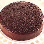 Chocolate Cake with Sour Cream Frosting