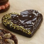 Chocolate-Dipped Rice Shortbread Cookies