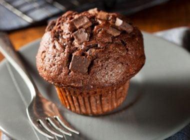 Decadent Chocolate-Beet Muffins