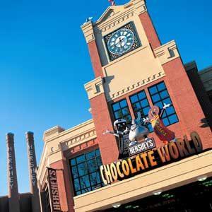 10. Hershey's Chocolate World, Hershey, Pennsylvania