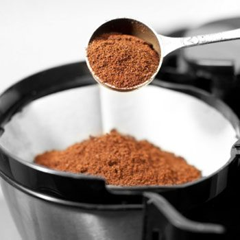 5. Use paper filters when brewing your coffee and skip the espresso