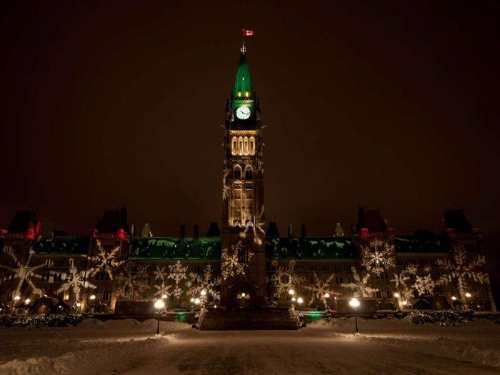 Christmas in Ottawa