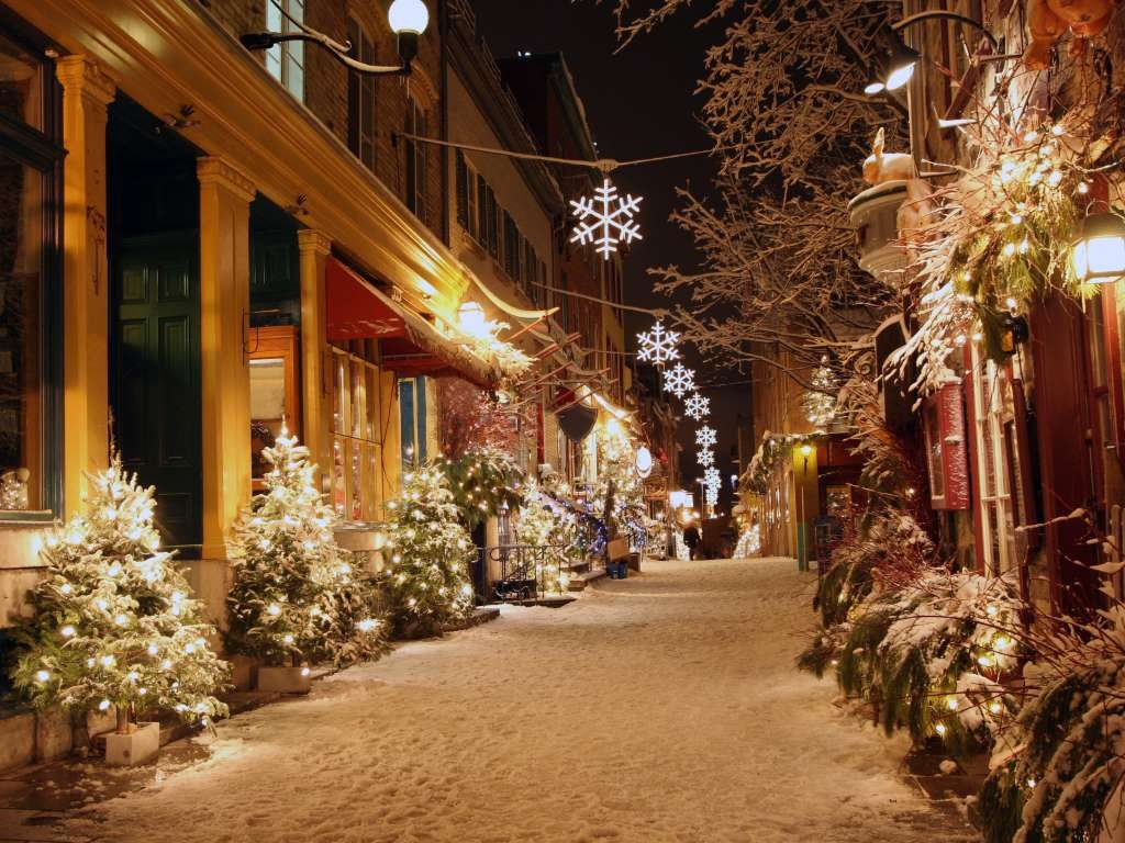 1. Christmas in Quebec City