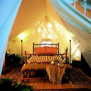 1. Luxury Tents