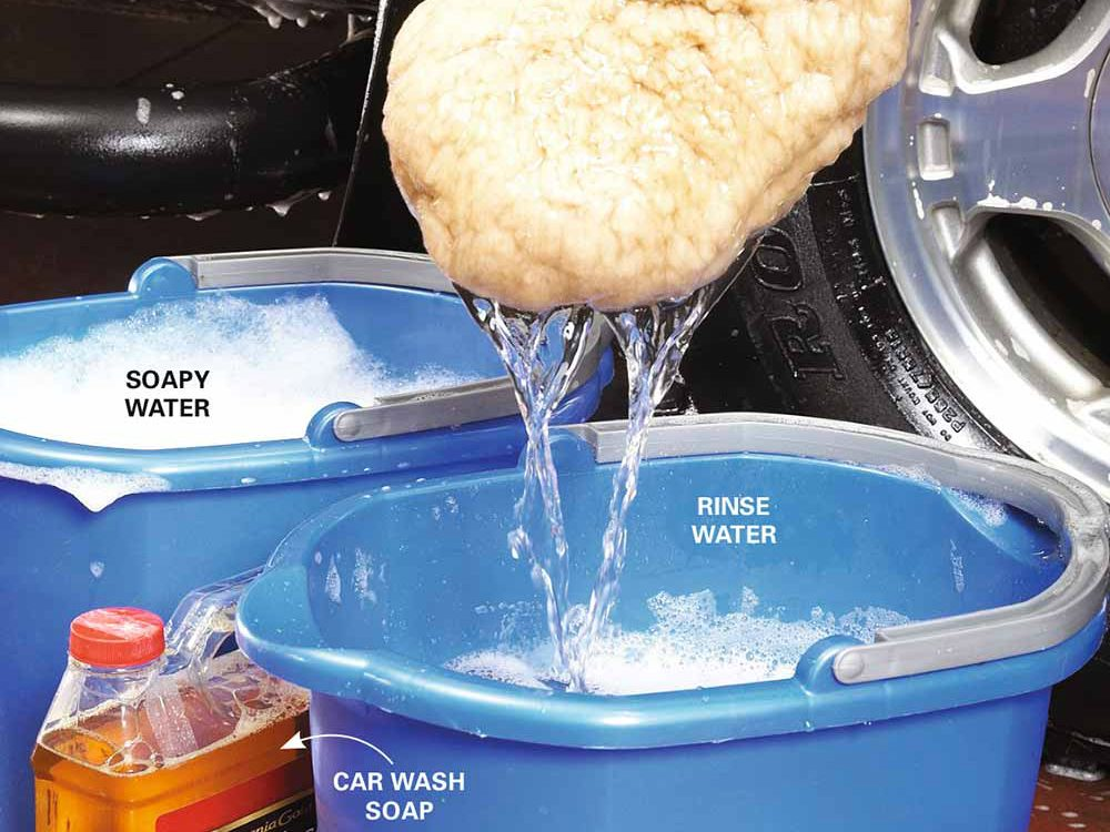 1. Wash your car with the right suds