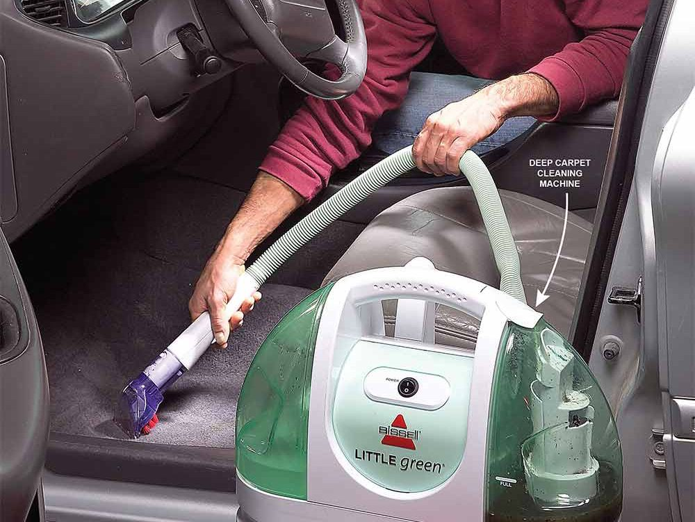 9. Deep-clean carpet and upholstery