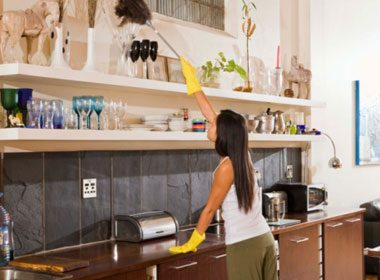 2. Wall and Cabinet Cleaner