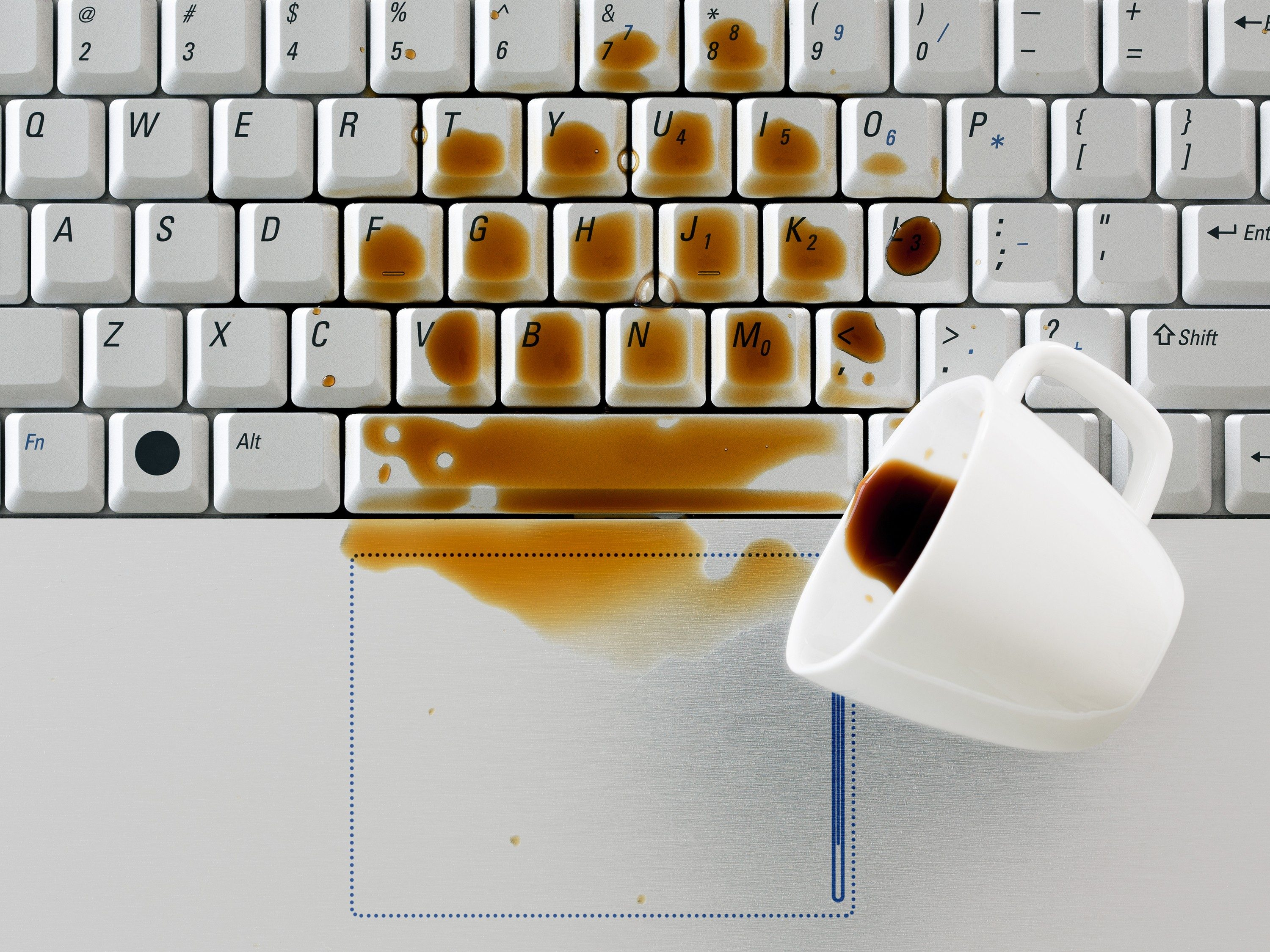 What To Do When You Spill Coffee On Your Laptop