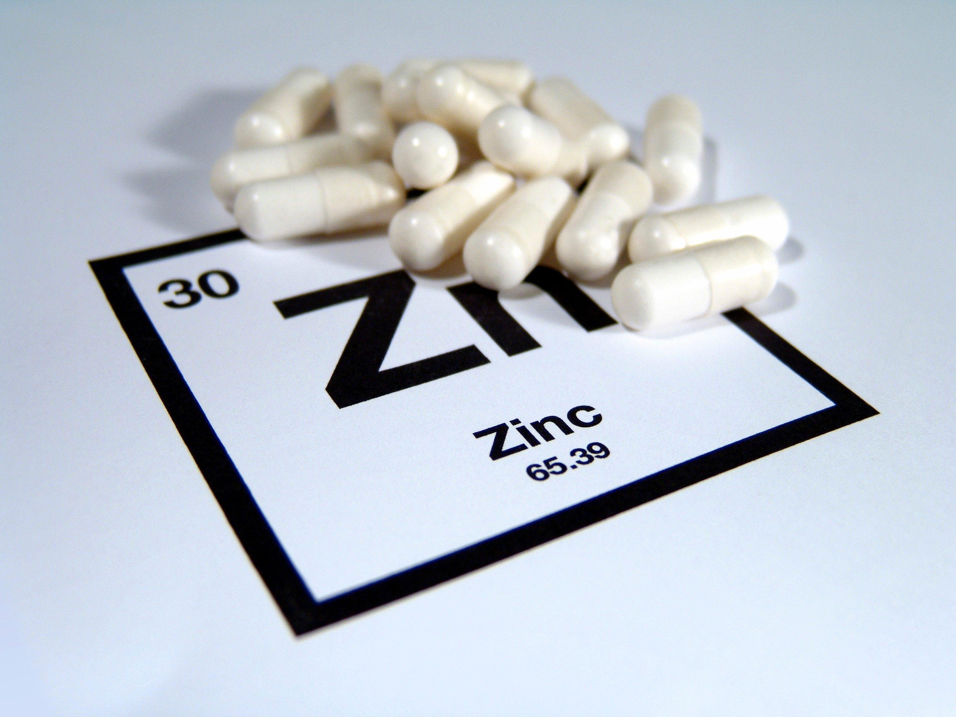 4. Take zinc