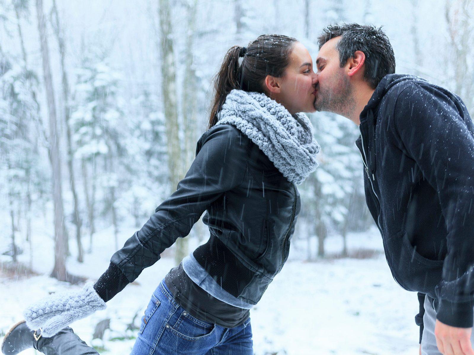 7. Keep on kissing